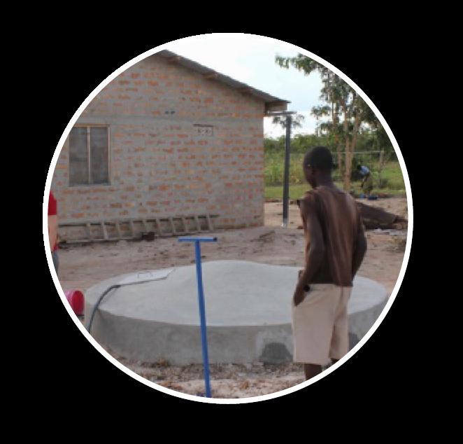 Amara Aid | Familia Moja Water Storage Tank Project